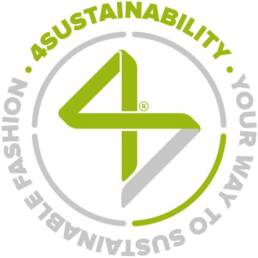 Marchio 4sustainability con pay off
